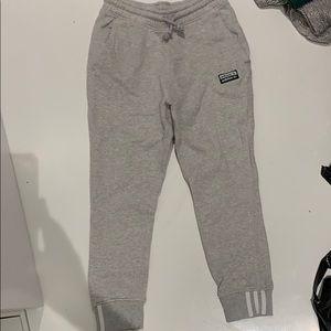 Adidas drop crotch jogger